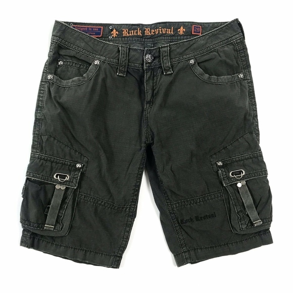 Rock Revival Other - Rock Revival for Buckle Cargo Shorts Sz 29